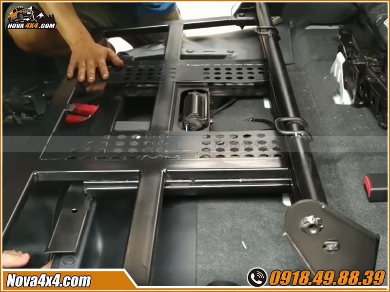Bộ sản phẩm  ghế chỉnh điện cho xe bán tải  bán sỉ cho anh em thợ